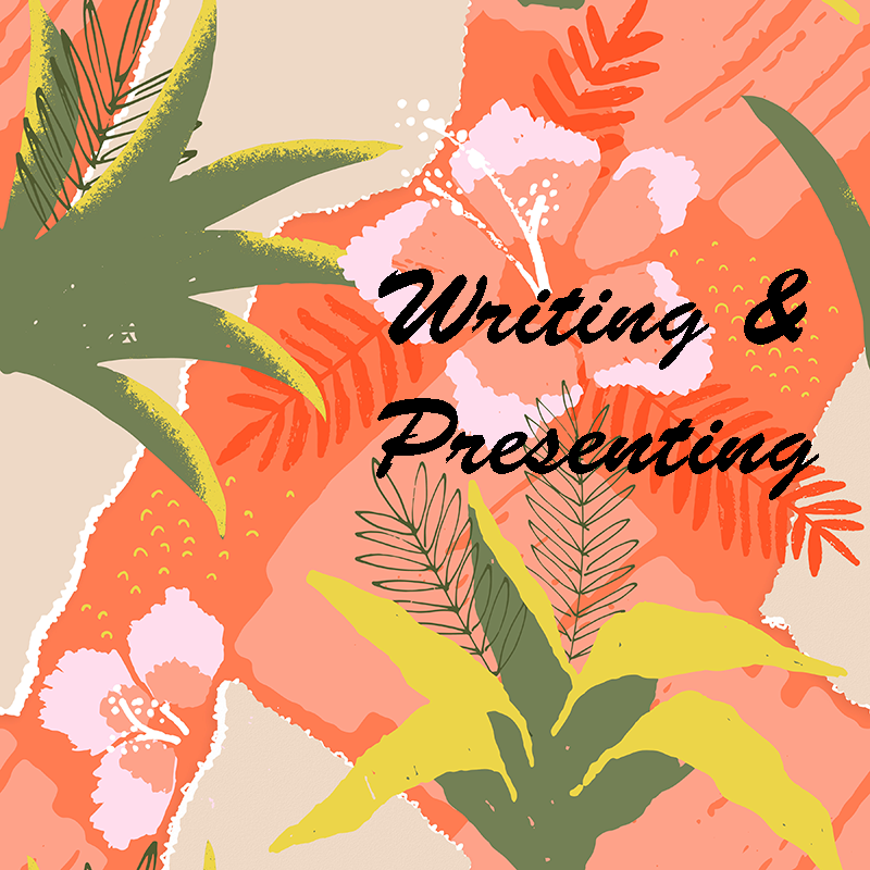 Post title image for Writing & Presenting